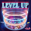 Neon Poster Level Up Skin